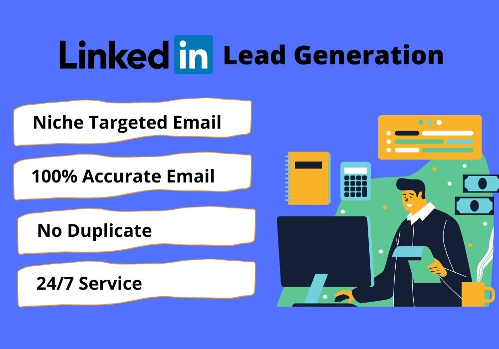 I will collect 100 niche targeted linkedin leads