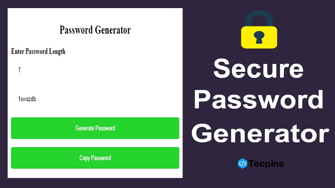 Secure Password Generator Script