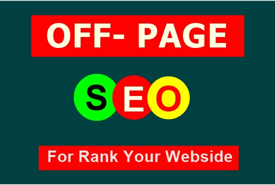 Rank Your Website On Google 1st Page By Latest Manual SEO Backlinks Package
