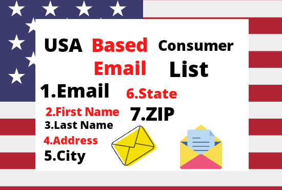 I will provide 4k USA based consumer email list