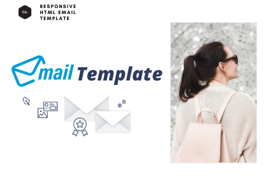 Design an awesome responsive HTML email template for your business or events or shop