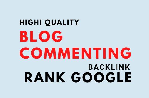 I will build 100 relevant Blog Comment Backlinks