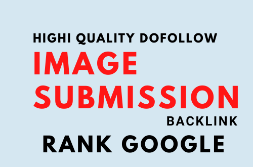 I will do 15 image submission backlink