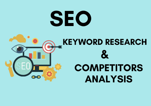 I will do excellent SEO keyword research competitors analysis on your website