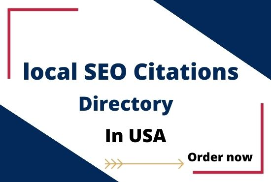 I will do local SEO citation directory in USA