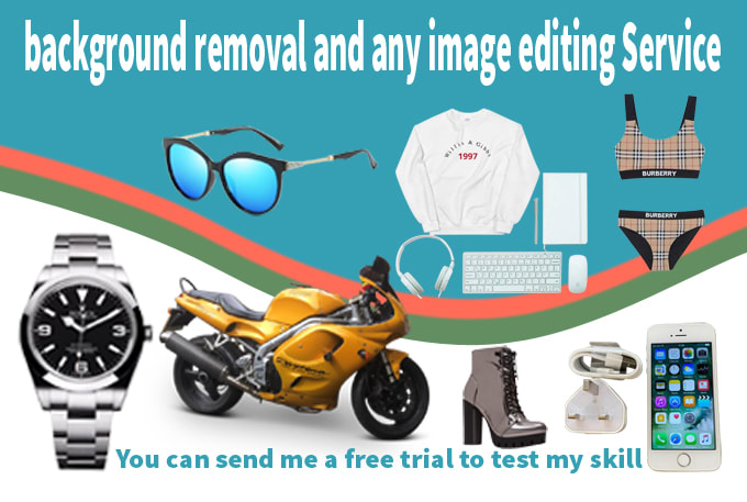 I will do background removal and any image editing