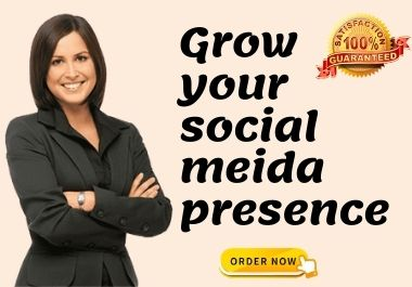 I will be the social media marketing manager and content creation