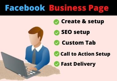 will create facebook business page. ads campaign and create real troax