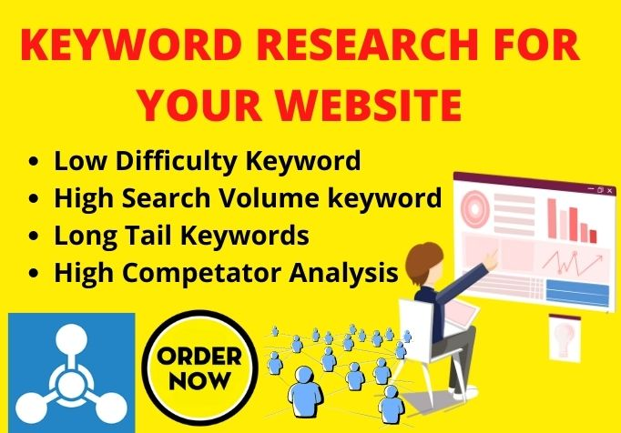 I will Research 10 Keyword on your website