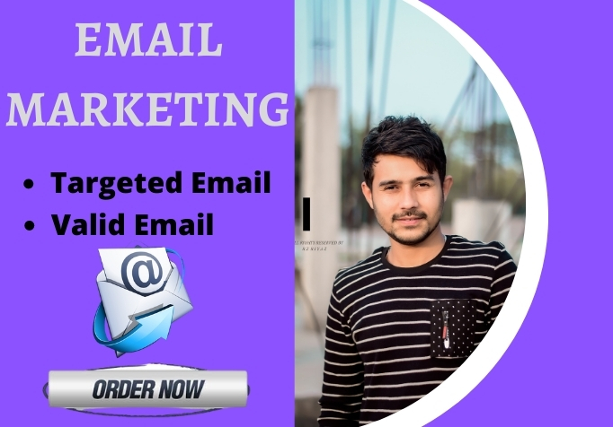 I will provied verified email marketing