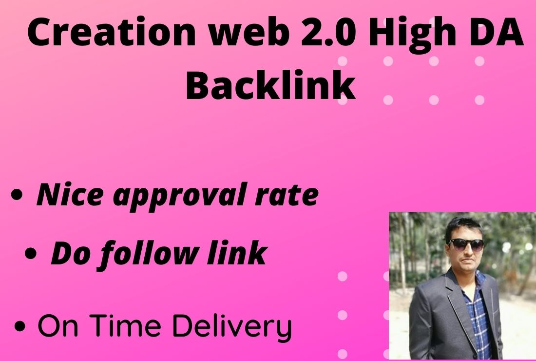 I will provide Web2 Backlinks service for SEO Ranking