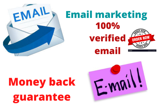 I will give you 1k verified email collection