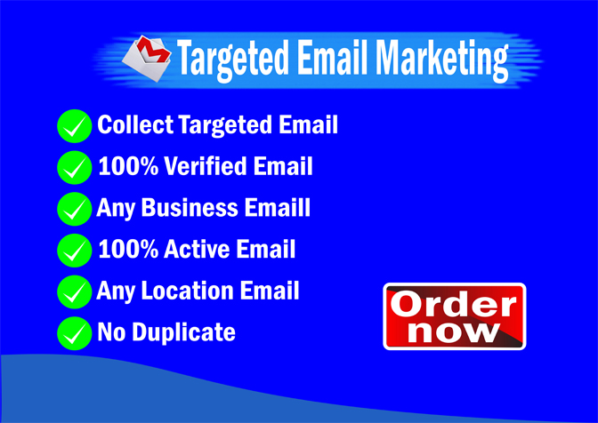 I will provide verified 1k USA active email