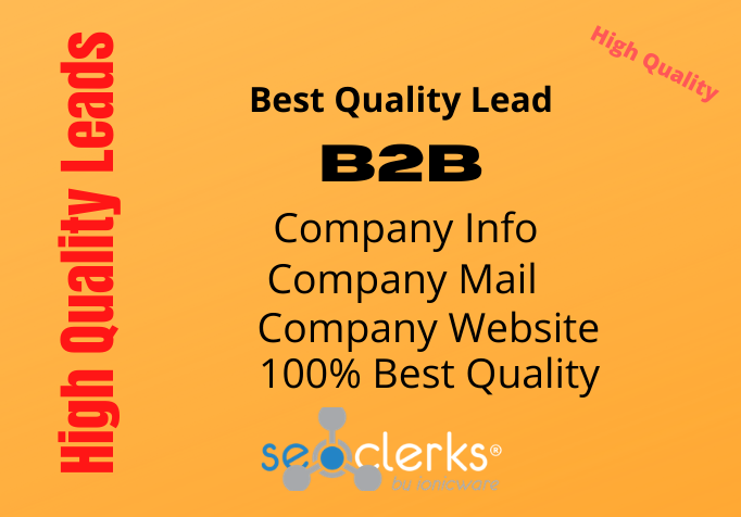 Get best quality company leads from verified list
