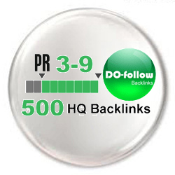 Submit 500 do-follow PR 3-9 backlinks