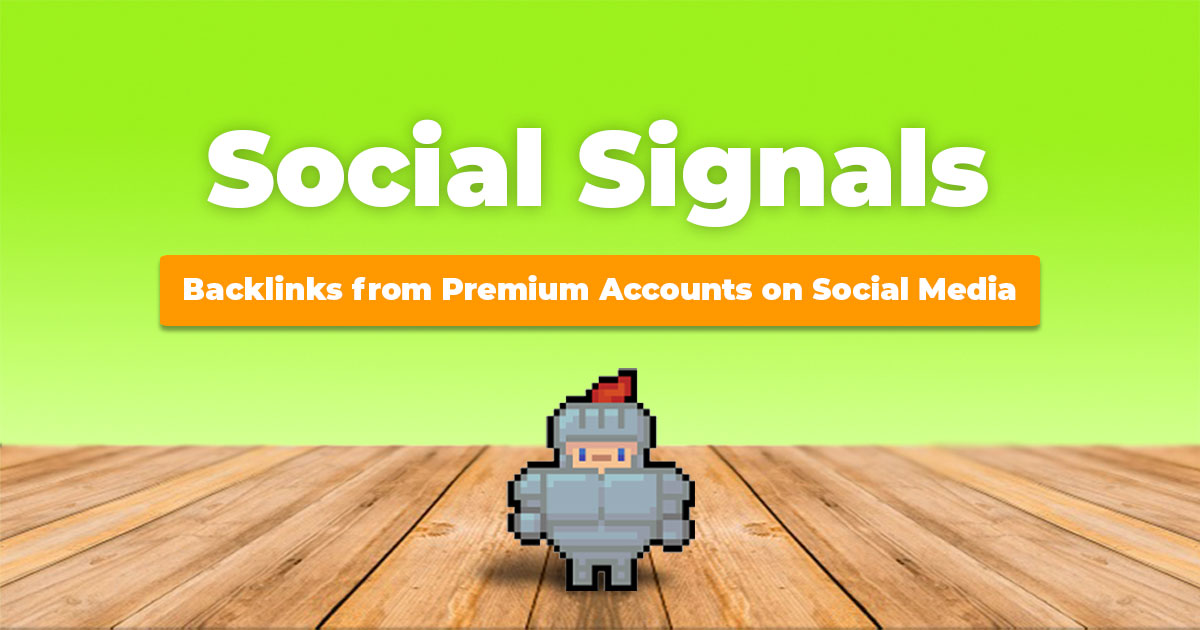 500 HQ PR9-PR10 Social Signals Backlink Monster Pack from the BEST Social Media website