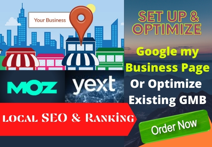 I will set up optimize Google my business and local SEO citation