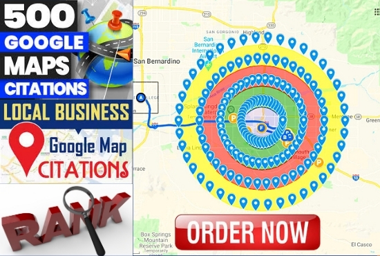 I will do 500 map citation in 24 hours for rank in google my business