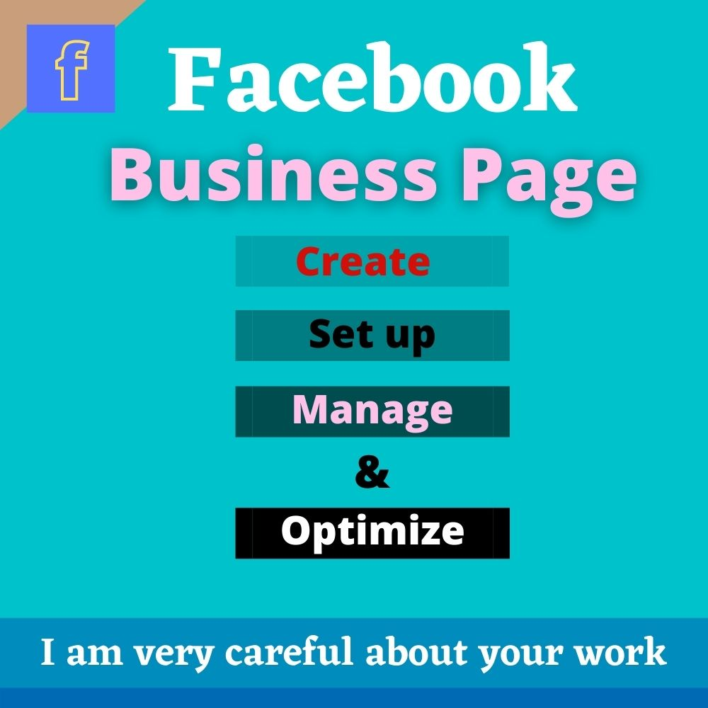 I will create a Facebook Business page according to your needs