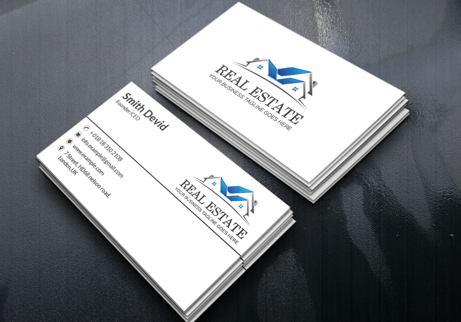 Create Your Real Estate Business Card.