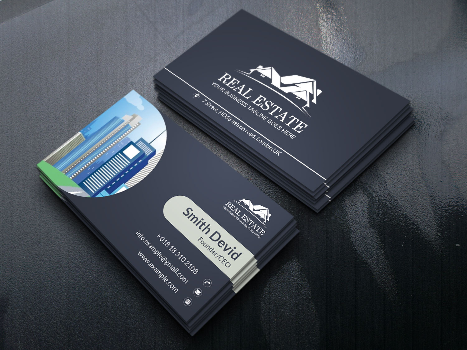 Create Your Professional Business Card.
