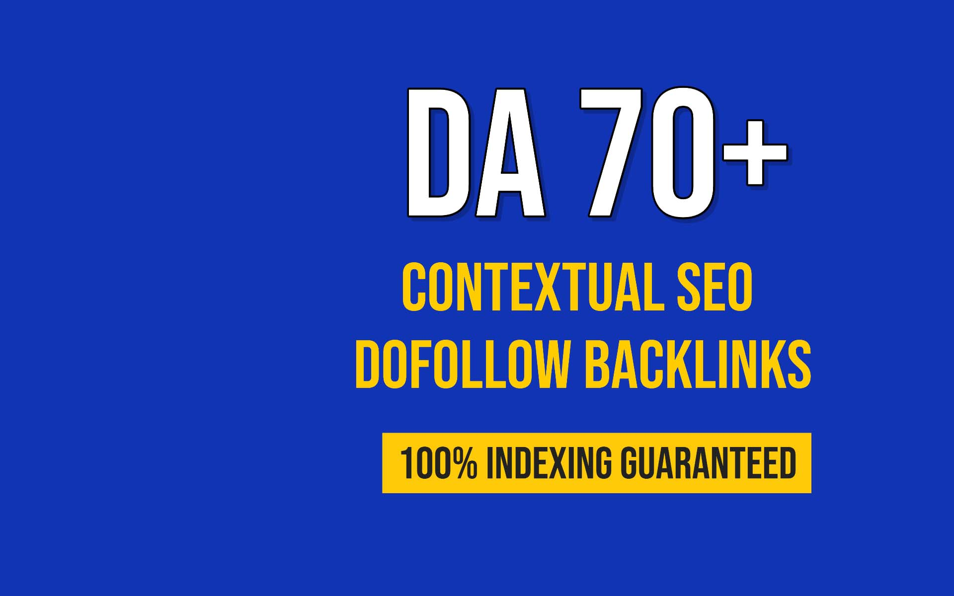 I will created 500 high quality contextual SEO dofollow backlinks