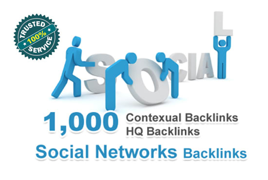 Get 1000 Contextual backlinks from social networks articles