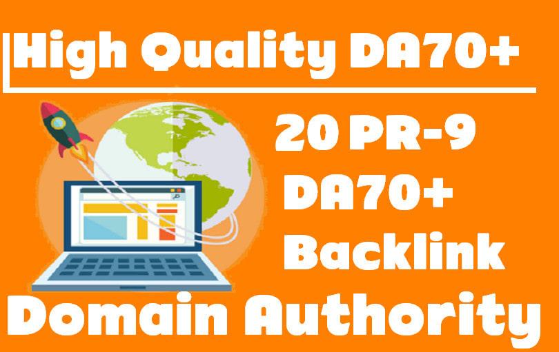 Submit PR9 - Domain Authority 70+