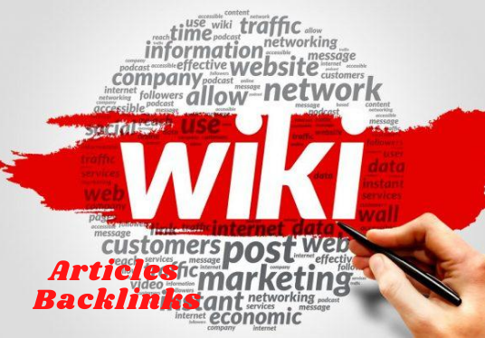 Get 330+ High Quality Wiki articles contextual backlinks