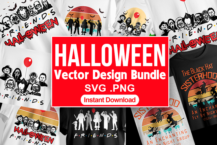 Halloween Vector T shirt Design bundle