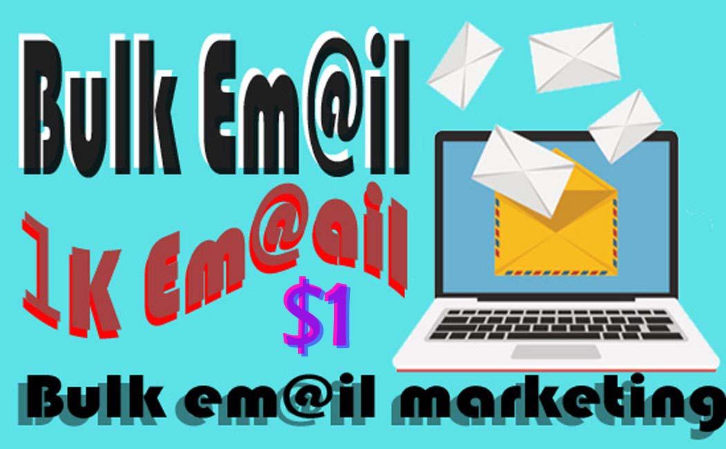 I provide you 1000 Bulk email list