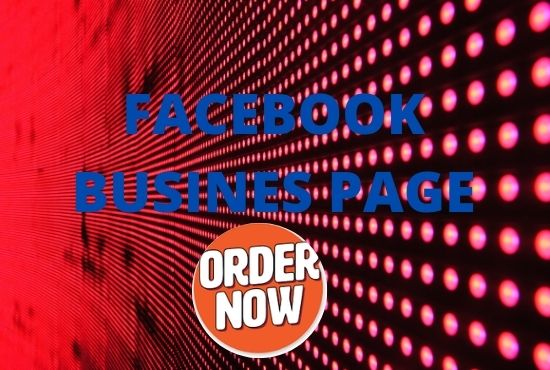 I will setup and optimize Facebook business page