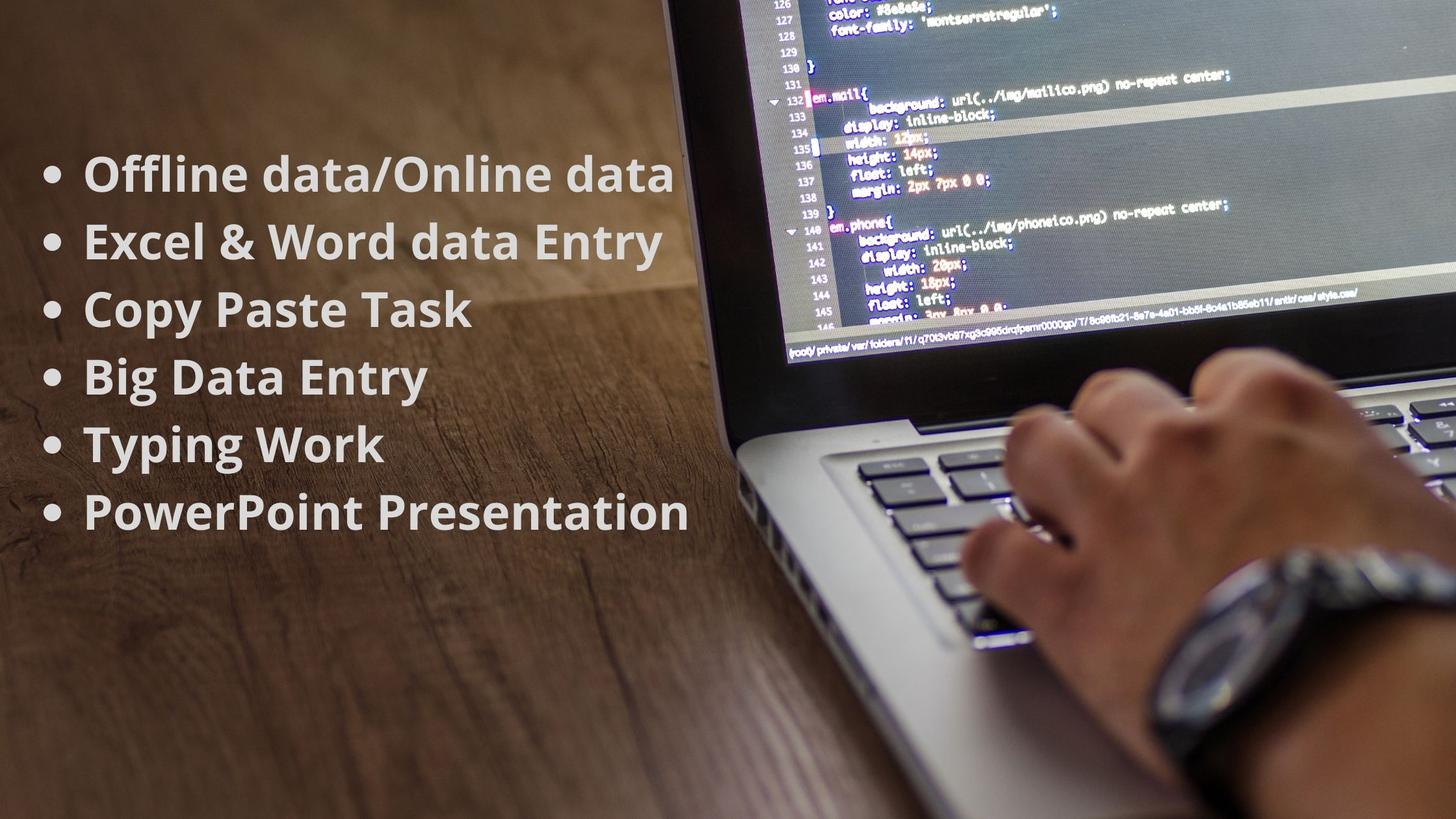 I Will do Your Online & Offline Data Entry