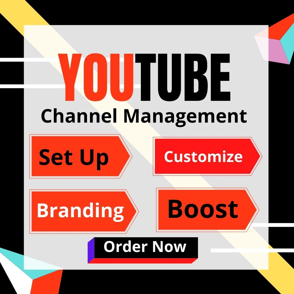 I will manage youtube Optimaze,  create YT to grow fast