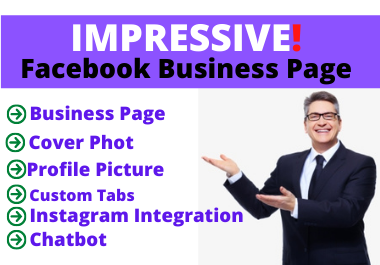 I will Set Up impressive fb business page