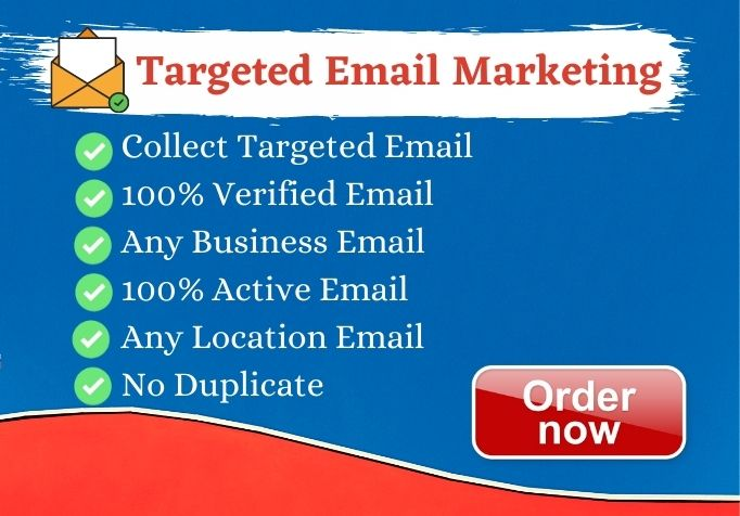 I will provide 1K USA Verified Active Email