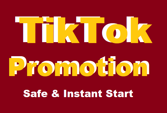 Professionally and Organically Do TikTok Promotion with Instant Results