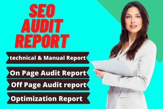 I will seo website audit and competitor analysis