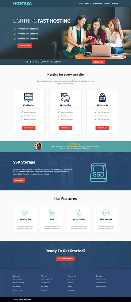 Built your Website in low price,  I Development your website using core PHP