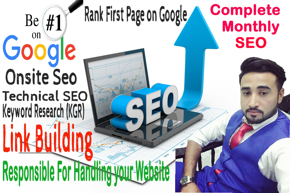 i will provide you monthly seo for your website, blogs, shopify store and affiliate sites