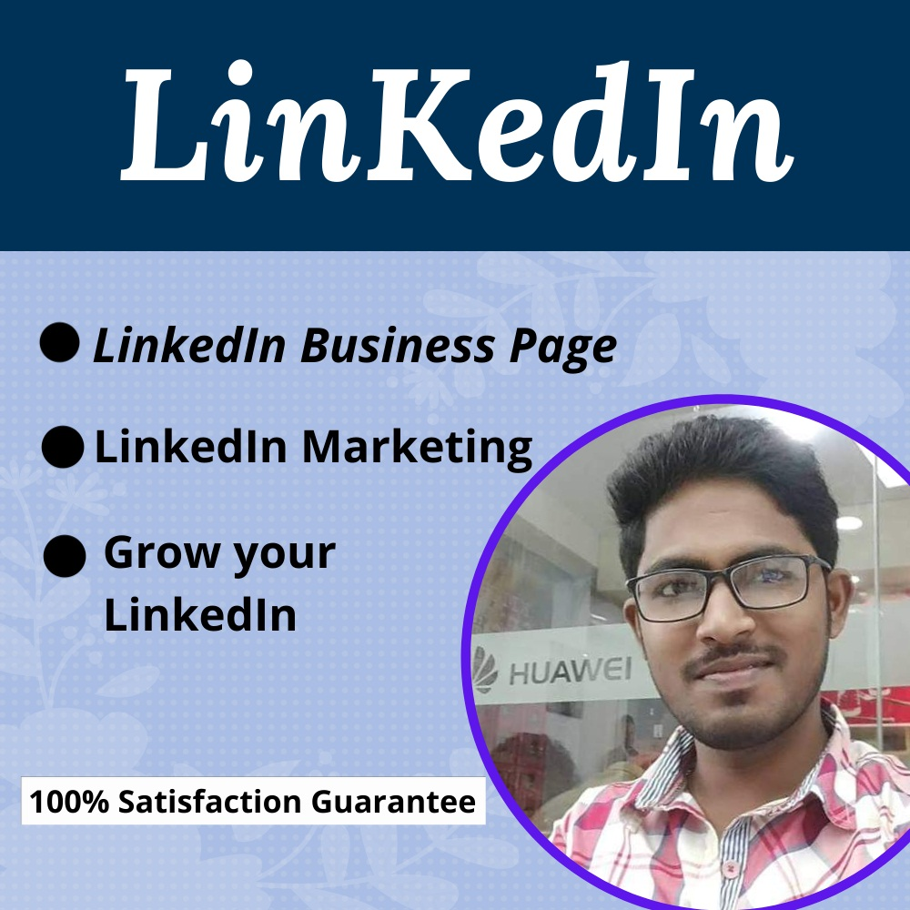 I will create a wonderful LinkedIn Business page and customize it utterly