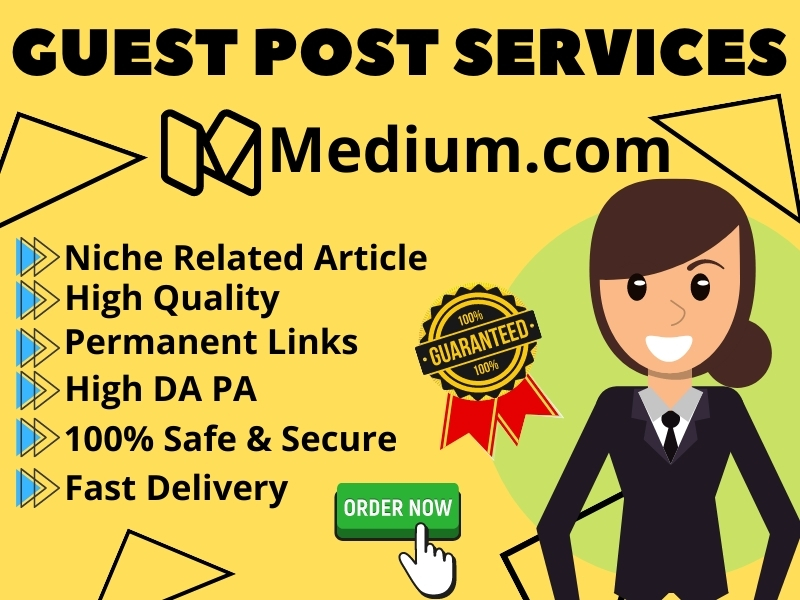 I will Write & Publish Guest Post On Medium High DA PA for SEO Rank