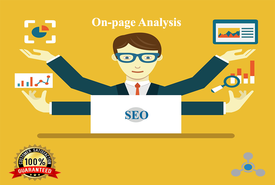 provide on-page SEO analysis suggestion report