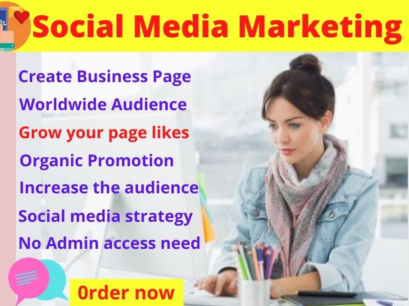 I will Promote and Advertise your Facebook page social media to grow your business