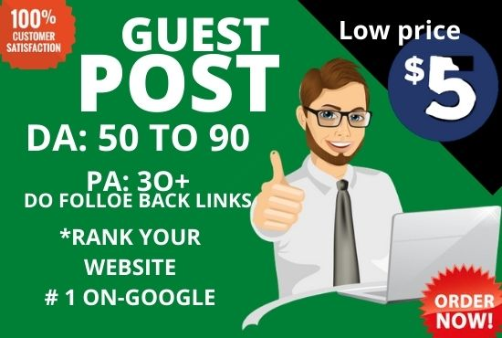 high da and pa guest posting service