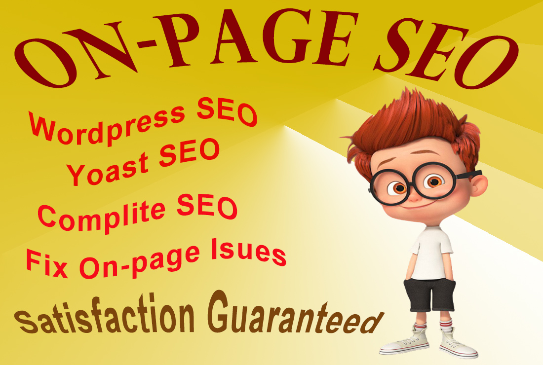 perfect onpage SEO fix and technical on page optimization