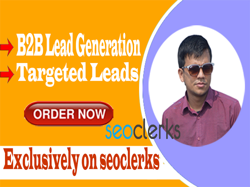 I will do b2b lead generation and targeted lead generation Within 24 hrs