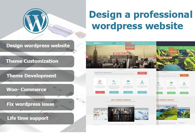 I will make you Fully RESPONSIVE PROFESSIONAL WordPress Website