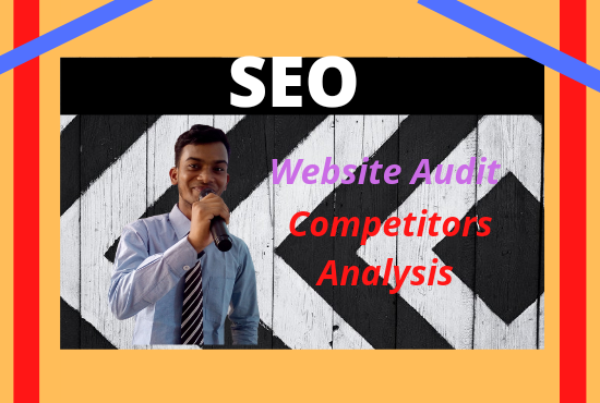 I will audit website and provide competitor analysis report