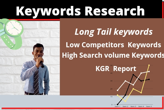I will do best keyword research and kgr report that actually rank